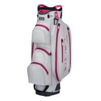 TiCad DRY Tour Waterproof Damen Cartbag, Grau / Pink
