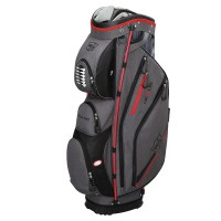 Wilson Staff Nexus II Cartbag, Grau / Rot / Schwarz