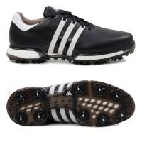 Adidas Tour 360 Boost 2.0 Herren Golfschuhe, Schwarz / Weiß