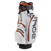 Big Max Aqua Sport 2 Waterproof Cartbag, Weiß / Schwarz / Orange