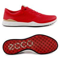 Ecco S-Lite Damen Leder Golfschuhe, Rot