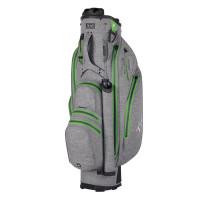 TiCad Quiet Organizer 9 (QO 9) Premium Waterproof Cartbag, Grau / Grün
