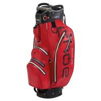 Big Max Aqua Sport 2 Waterproof Cartbag, Rot / Schwarz / Silber