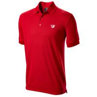 Wilson Staff Authentic Herren Golf Polo, Rot
