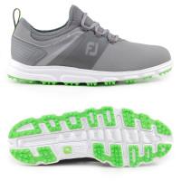 FootJoy Superlites XP II Herren Golfschuhe, Grau / Weiß / Grün