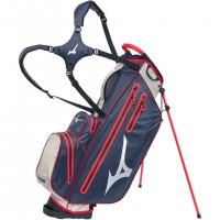 Mizuno BR-DRI Waterproof Standbag, Navy / Rot