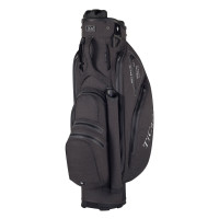 TiCad Quiet Organizer 9 (QO 9) Premium Waterproof Cartbag, Dunkelgrau / Schwarz