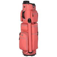Bennington Quiet Organizer 9 (QO 9) Damen Cartbag / Golfbag, Rosé