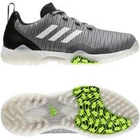 Adidas CodeChaos Herren Golfschuhe, Grau / Schwarz / Weiß