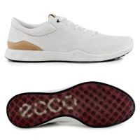 Ecco S-Lite Damen Leder Golfschuhe, Weiß