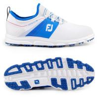 FootJoy Superlites XP II Herren Golfschuhe, Weiß / Blau