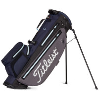 Titleist Players 4+ StaDry Waterproof Standbag, Graphite / Navy / Sky