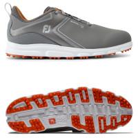 FootJoy Superlites XP II Herren Golfschuhe, Grau / Orange