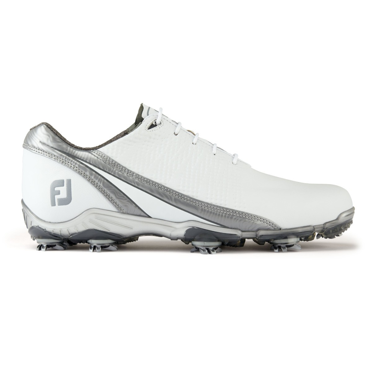 Golflaedchen.de FootJoy DNA 2.0 Herren Golfschuhe, Weiß / Platinum